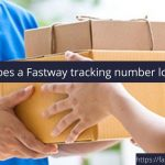 What does a Fastway tracking number look like?