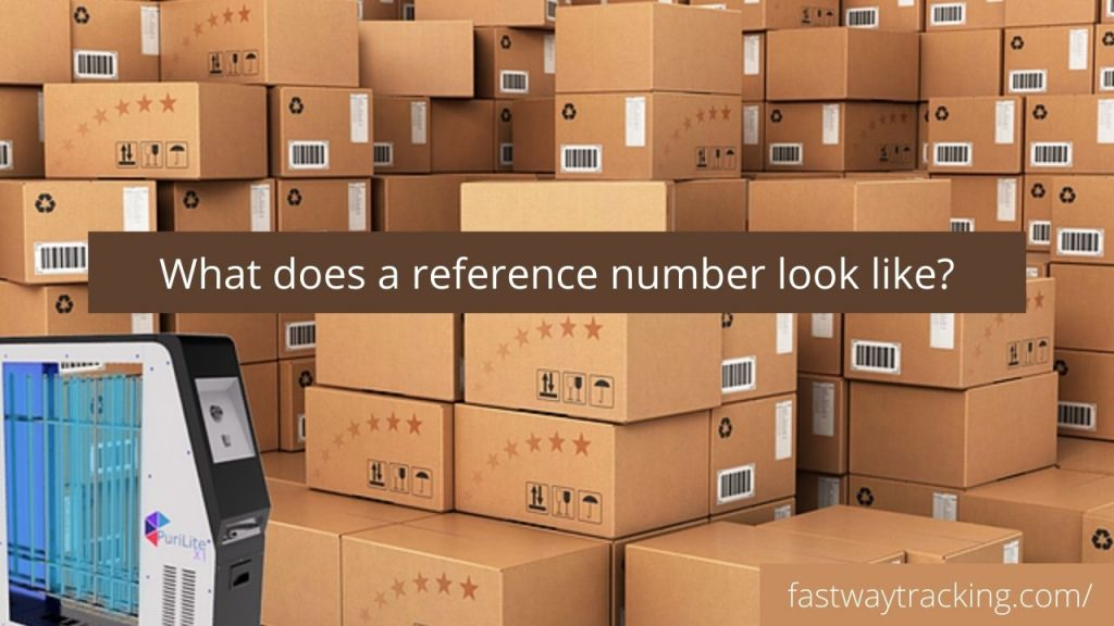 What does a reference number look like?
