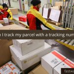 How can I track my parcel with a tracking number?